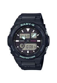 Czarny zegarek Casio analogowy