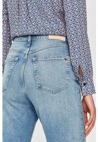Niebieskie proste jeansy TOMMY HILFIGER