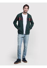 Vistula Bluza Cullen XA0536 Zielony Regular Fit. Kolor: zielony