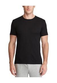 Ralph Lauren - RALPH LAUREN - T-Shirt 2-Pack. Typ kołnierza: polo. Kolor: czarny. Materiał: bawełna, prążkowany. Wzór: haft. Styl: klasyczny