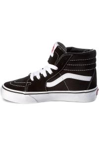 Czarne buty zimowe Vans z cholewką