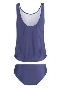 Fioletowy strój kąpielowy bonprix