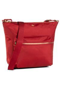 Czerwona listonoszka Lauren Ralph Lauren klasyczna