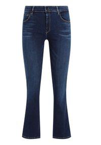 Guess Jeansy Sexy Straight Ankle W01A48 D38R5 Granatowy Curvy Fit. Kolor: niebieski. Materiał: elastan, bawełna, jeans