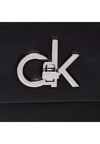Czarna torebka klasyczna Calvin Klein klasyczna