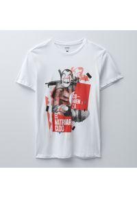 House - Koszulka z nadrukiem Dom z papieru - Biały. Kolor: biały. Wzór: nadruk