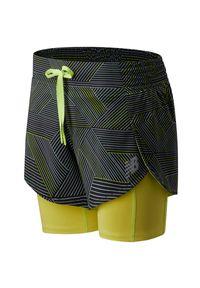 New Balance WS01242BM. Materiał: poliester, materiał, elastan. Sport: fitness
