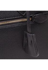 Trussardi Jeans - Torebka TRUSSARDI - Tote Md 75B01079 Black K299. Kolor: czarny. Wzór: aplikacja. Materiał: skórzane. Styl: klasyczny