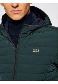 Zielona kurtka puchowa Lacoste
