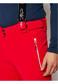 Czerwone spodnie sportowe CMP narciarskie