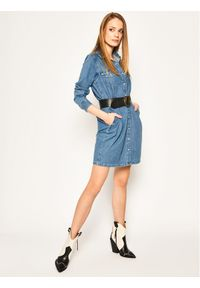 Niebieska sukienka koszulowa Levi's®