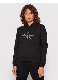 Calvin Klein Jeans Bluza J20J216236 Czarny Relaxed Fit. Kolor: czarny