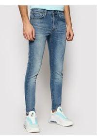 Levi's® Jeansy 84558-0051 Niebieski Skinny Taper Fit. Kolor: niebieski