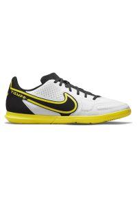 Buty piłkarskie halowe Nike Tiempo Legend 9 Club IC DA1189. Materiał: skóra, guma, syntetyk. Szerokość cholewki: normalna. Sport: piłka nożna