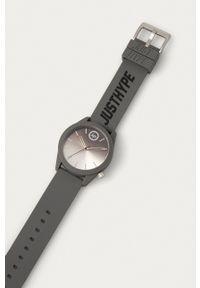 Hype - Zegarek HYU020EE. Kolor: szary. Materiał: tworzywo sztuczne, materiał