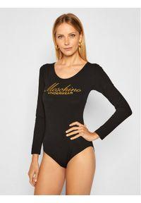 Czarna bluzka body Moschino Underwear & Swim