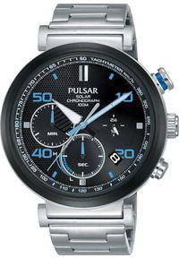 Zegarek Pulsar Zegarek Pulsar Solar męski chronograf PZ5065X1 uniwersalny
