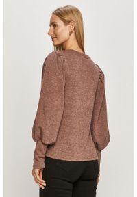 Sweter Jacqueline de Yong długi, casualowy, z długim rękawem, na co dzień