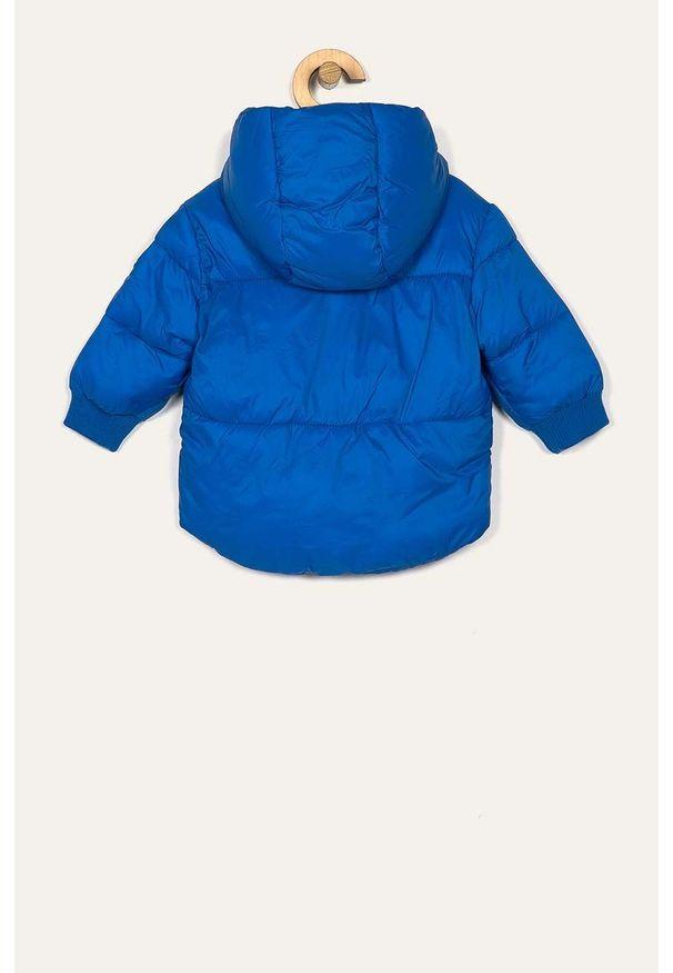 Niebieska kurtka Blukids z kapturem