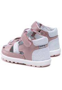 Bartek - Sandały BARTEK - 11694-003/NO2 Róż. Kolor: różowy. Materiał: skóra, zamsz