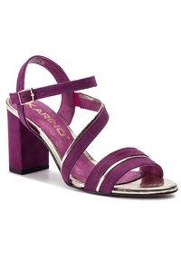 Fioletowe sandały Karino casualowe, na co dzień