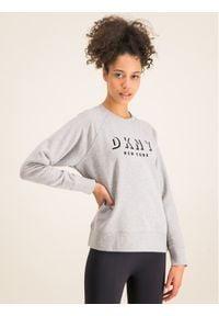 DKNY Sport Bluza DP9T7096 Szary Regular Fit. Kolor: szary. Styl: sportowy