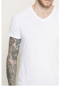 Biały t-shirt Lee