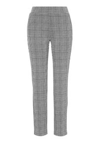 Szare spodnie Cellbes eleganckie, w kratkę