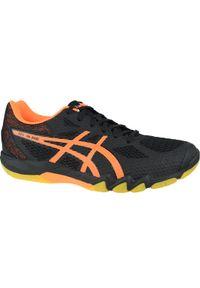Czarne buty sportowe Asics z cholewką