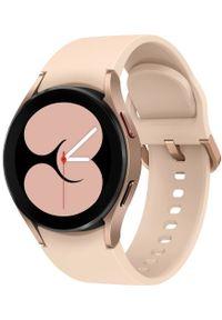 SAMSUNG - Samsung Galaxy Watch4 40mm Pink Gold. Rodzaj zegarka: smartwatch. Kolor: różowy. Styl: militarny