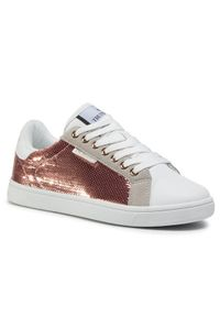 Białe buty sportowe Trussardi Jeans