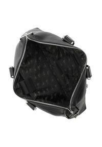 Czarna torba na laptopa Wittchen klasyczna, z aplikacjami
