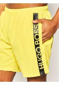 Żółte szorty BOSS