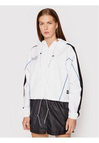 Puma Kurtka przejściowa Queen 598846 Biały Loose Fit. Kolor: biały
