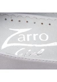 Białe buty komunijne Zarro z aplikacjami, eleganckie, na komunię