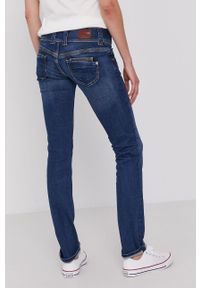 Pepe Jeans - Jeansy Venus. Kolor: niebieski