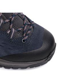 Niebieskie buty trekkingowe Lowa Gore-Tex, trekkingowe #8