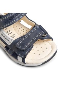 Geox Sandały B S.Tapuz B. A B020XA 0CL22 C4002 Granatowy. Kolor: niebieski