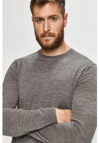Marciano Guess - Sweter. Okazja: na co dzień. Kolor: szary. Długość rękawa: długi rękaw. Długość: długie. Styl: casual