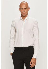 Biała koszula Strellson klasyczna, długa