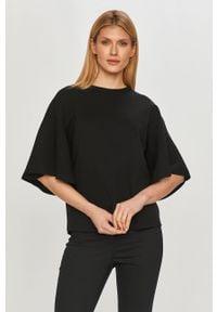 Czarny sweter Liviana Conti gładki