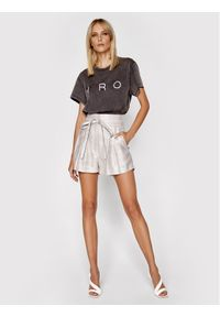IRO T-Shirt Iroyou A0700 Szary Relaxed Fit. Kolor: szary