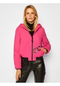 Różowa kurtka zimowa Calvin Klein Jeans