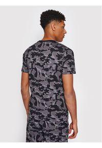 Puma T-Shirt Core Camo Aop Tee 531500 Szary Regular Fit. Kolor: szary