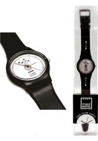 Biały zegarek Make Notes