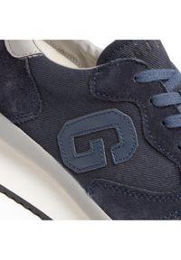 Guess Sneakersy FM5RUN FAB12 Granatowy. Kolor: niebieski. Sport: bieganie
