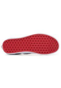 Czerwone buty sportowe Vans z cholewką, z motywem z bajki, Vans Classic