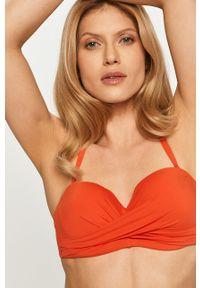 Kate Spade - Biustonosz kąpielowy. Kolor: pomarańczowy. Materiał: materiał