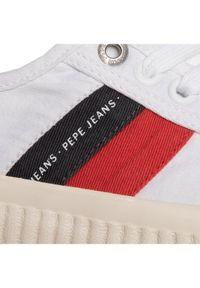 Białe trampki Pepe Jeans