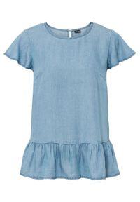Niebieska bluzka bonprix